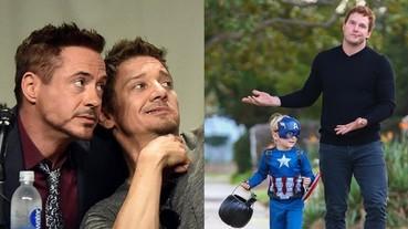 〔復仇者聯盟〕小勞勃道尼兒子最愛的超級英雄是「鷹眼」 這些演員老爸都是「父愁者聯盟」!
