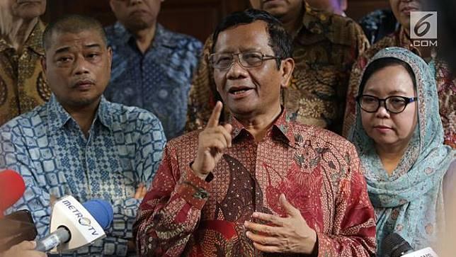 Mahfud MD dan Gerakan Suluh Kebangsaan Sambangi Kediaman Megawati