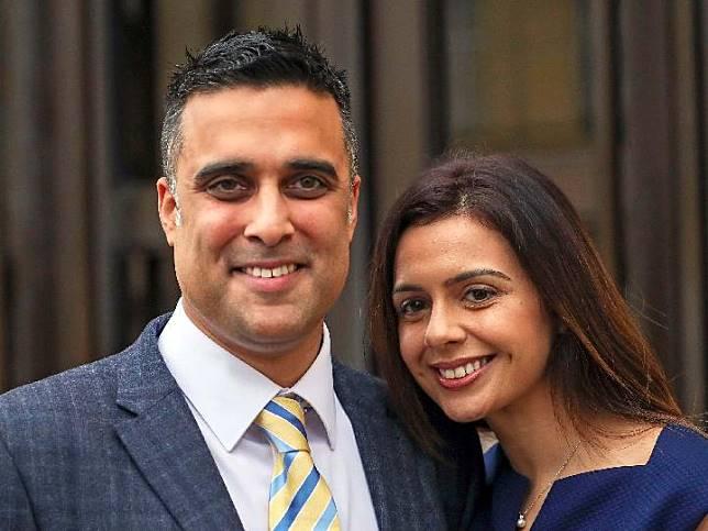 Pasangan suami - istri Sikh dari India memenangkan gugatan kasus bernada ras. Sumber: Great Britain News