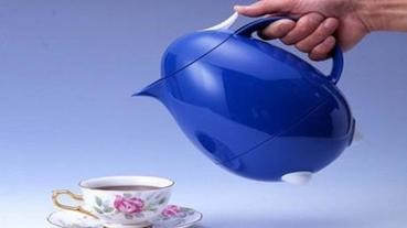 藍色酷企鵝茶壺,陪你輕涼一夏溜!