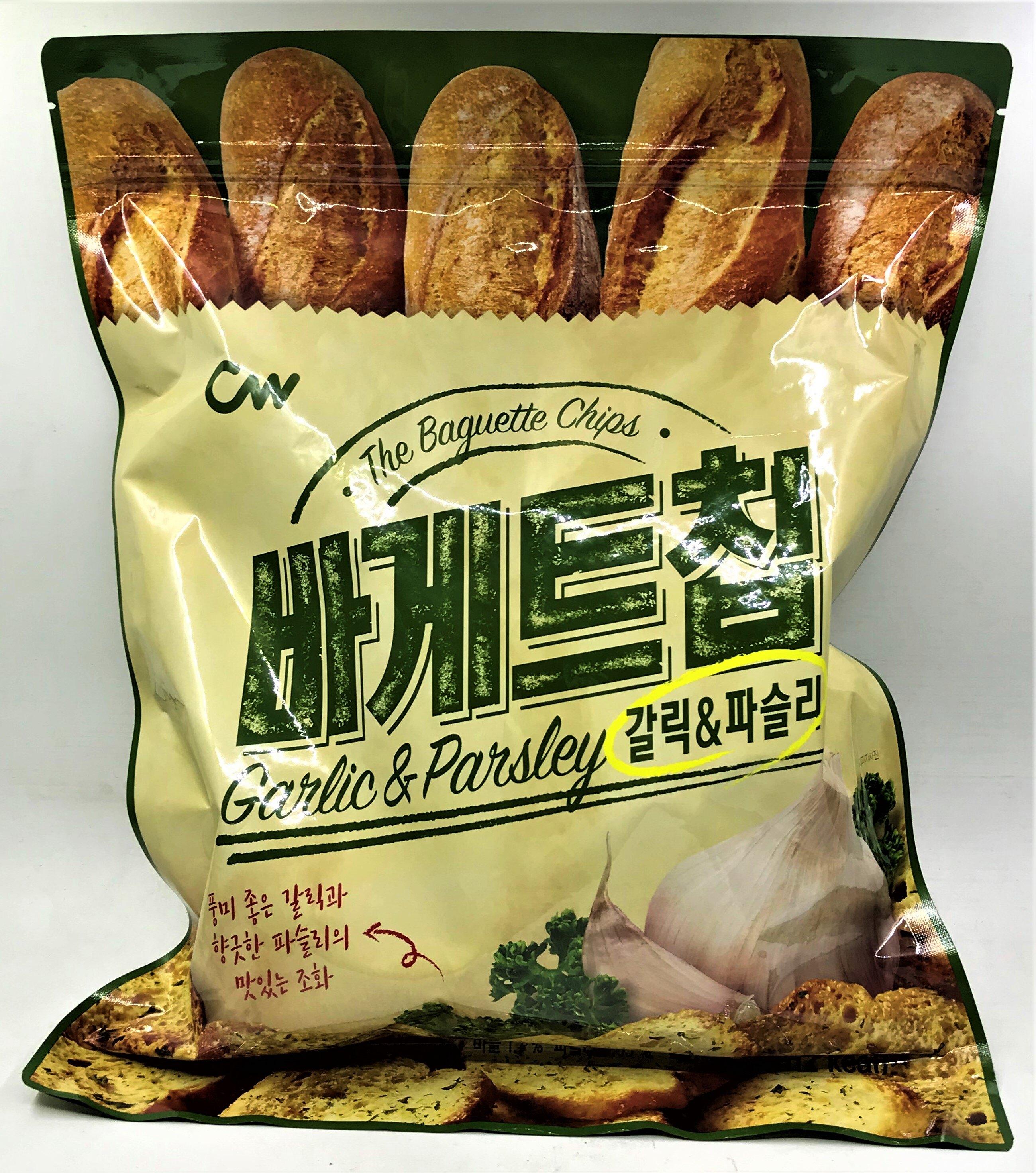 [哈日小丸子]韓國CW大蒜麵包餅乾(400g)