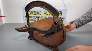 修復100年前的切片機