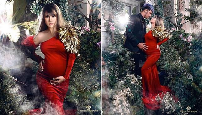 Potret Cantik Irish Bella Mirip Bidadari dari Kahyangan di Maternity Shoot Terbaru