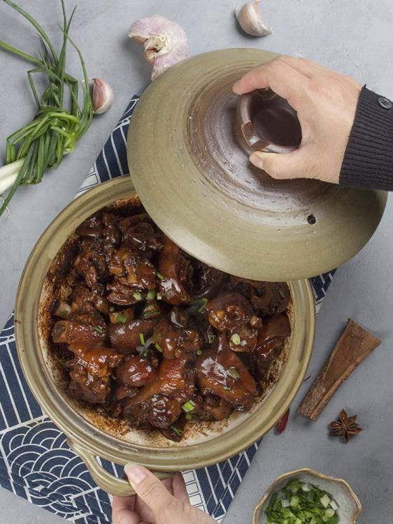 日式陶土砂鍋煲湯家用小號煲仔飯專用土鍋火鍋燃氣煤氣灶陶瓷燉鍋