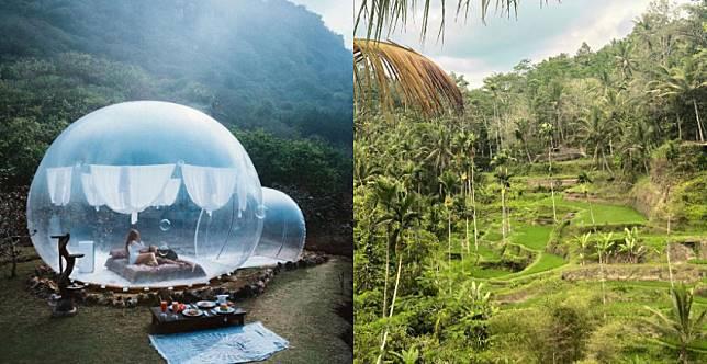 除了陽光沙灘比基尼,竟然還有....峇里島夢幻秘境,超Chill山景等你來打卡