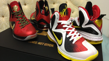 LeBron 9 Championship Pack 開箱 / unboxing
