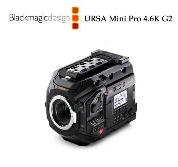 【EC數位】Blackmagic 黑魔法 專業 URSA Mini Pro 4.6K G2 數位電影攝影機