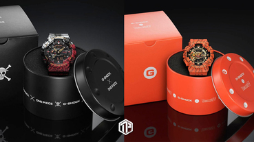 G-Shock x《One Piece》《Dragon Ball Z》推出 GA-110 錶款!
