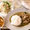 鶏肉のグリーンカレー - 実際訪問したユーザーが直接撮影して投稿した新宿タイ料理クルンテープ 本店の写真のメニュー情報