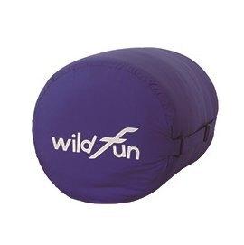 【【蘋果戶外】】野放 Wildfun 舒適款加大方形睡袋【加大方形 可拼接/900g/8C/寶藍】CX001 MIT 100%台灣製造 中空纖維 人造纖維 露營
