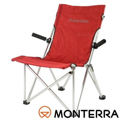 【MONTERRA 韓國】舒適扶手太師椅『紫紅』CAA71