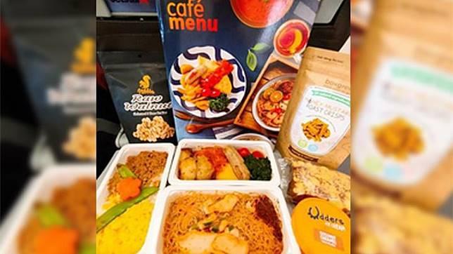 Menu Jetstar Asia. foto/instagram/jetstarasia
