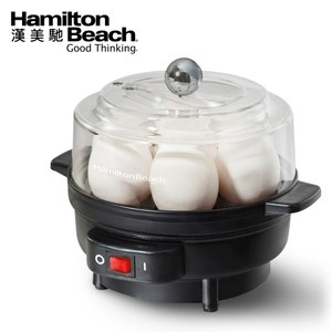 美國廚房小家電第一品牌 可用水量控制雞蛋熟嫩程度 一次最多可蒸七顆水煮蛋 配有三顆荷包蛋蒸盤 可當蒸鍋溫熱熟食 不沾黏蒸盤設計方便拆洗
