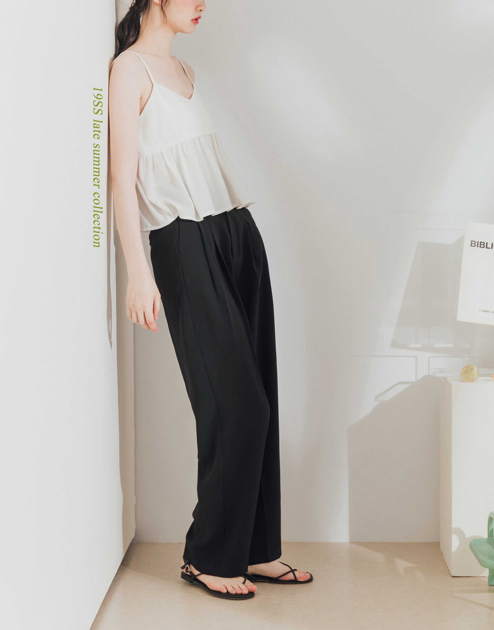 PAZZO+& IN THING 打折西裝寬褲
