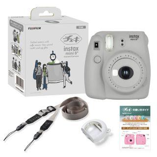 インスタントカメラ チェキ「MINI8+」(INSMINI8PLUSセサミ)