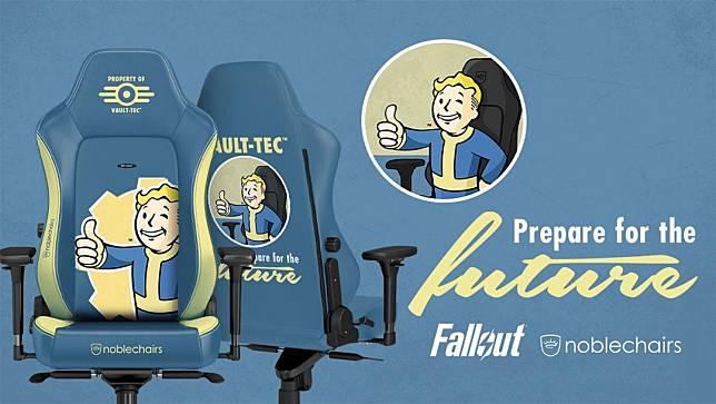 พบกับเก้าอี้ Gaming ลาย Fallout จาก Noblechairs พร้อมวางจำหน่ายหน้าร้อนปีนี้
