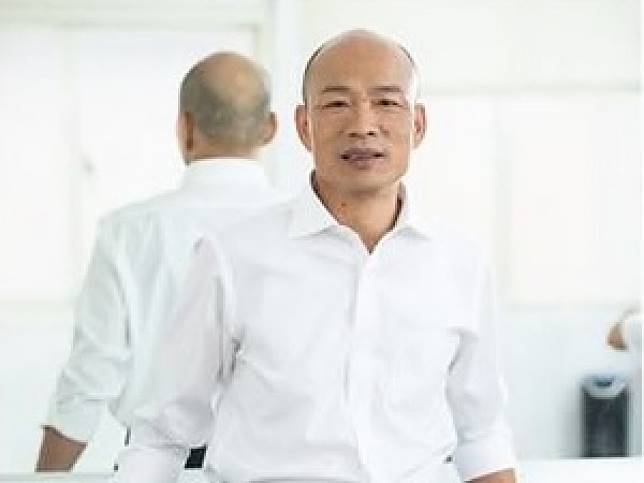 韓國瑜說,對香港政府能推遲就修訂逃犯條例立法表示肯定。(韓國瑜社交專頁截圖)