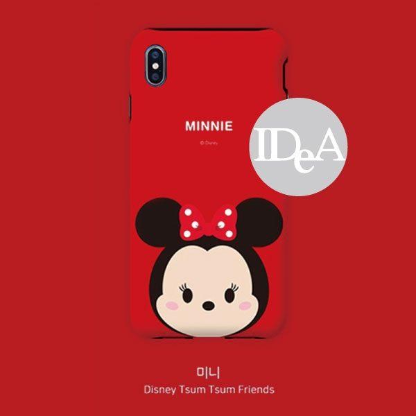 迪士尼 iPhoneX XS TSUM手機殼雙層保護殼 tsum Q版 公仔 米奇 米妮 唐老鴨 x xs