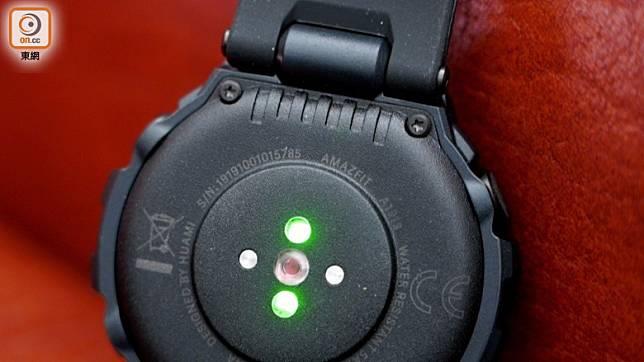 T-Rex不能自行更換錶帶,相對不便。(張錦昌攝)