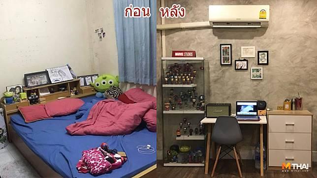 รีโนเวทห้องนอน แบบบ้านๆ ให้เกิดใหม่ด้วยสไตล์ลอฟท์