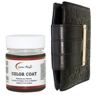 專屬色皮革染料,無溶劑刺鼻味,操作簡易!GUCCI 專屬咖啡黑,直接補色,不用另外調!組合內附有中文使用說明書,自己動手超簡單!來自美國的皮革專業保養品牌,為國際間指定的皮革保養油 / 乳。