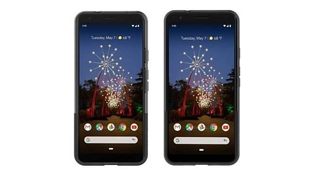 Hasil render Google Pixel 3a dan 3a XL