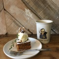 キャロットケーキ - 実際訪問したユーザーが直接撮影して投稿した末盛通カフェカンノン コーヒー 本山の写真のメニュー情報