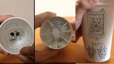 【有片】用紙杯做。。會動的漫畫?