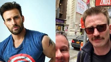 「美國隊長」克里斯伊凡新造型現身 網友驚訝:超級士兵血清失效了?