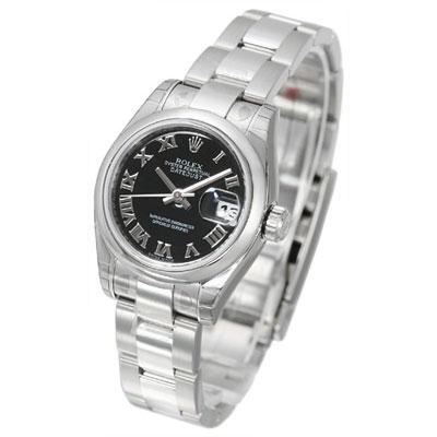 瑞士原廠平行輸入料號:179160通過瑞士天文台認證之準確時計72130蠔式帶扣錶帶904L高硬度不銹鋼製造