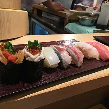 実際訪問したユーザーが直接撮影して投稿した西新宿寿司立ち寿司横丁 新宿西口の写真