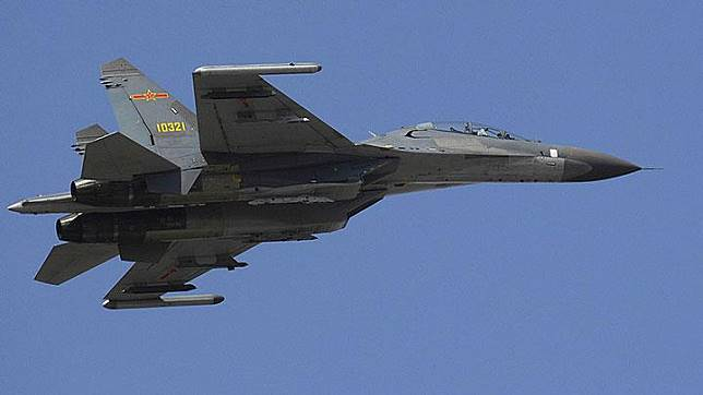 Jet tempur Cina, Shenyang J-11. Wikipedia/U.S. Defense Dept./Sgt. D. Myles Cullen