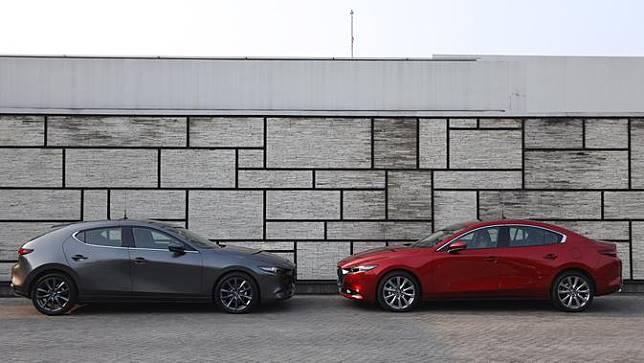 Mazda3 Hatchback dan Sedan