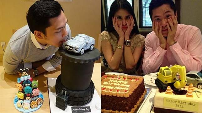 7 Bentuk Kue Ulang Tahun Unik Dari Sandra Dewi Dan Harvey Moeis