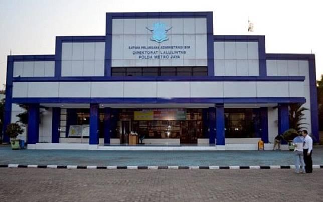 Gedung Satpas SIM Daan Mogot, Jakarta Barat