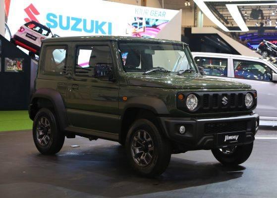 Suzuki Jimmy generasi terbaru