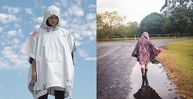 突然期待下雨天~這些雨衣外套超可愛,大晴天都想穿出門!