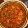 7分豚キムチチゲ - 実際訪問したユーザーが直接撮影して投稿した百人町焼肉セマウル食堂 新大久保店の写真のメニュー情報