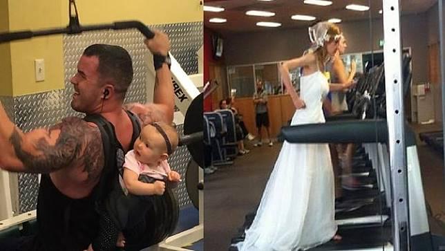 kejadian aneh di gym