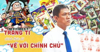 """Sau hơn 10 năm, cuối cùng Trạng Tí và Thần Đồng Đất Việt đã thắng kiện, trở về với """"cha đẻ"""" của mình"""