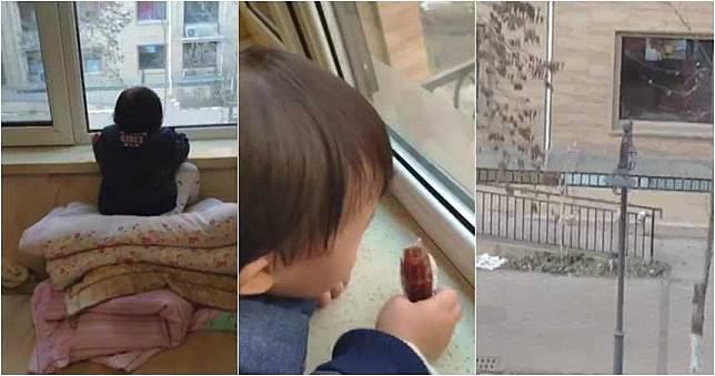 3歲女兒每天發呆看窗外1小時 爸爸走近一看笑了!