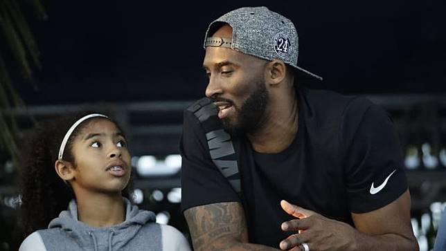 Momen Keakraban Kobe Bryant dan Putrinya Sebelum Meninggal