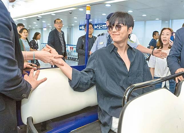 李敏鎬來台同機粉絲享好康