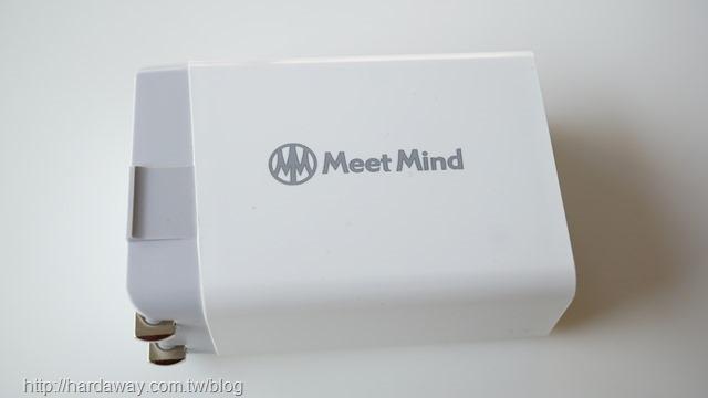 MeetMind TRIPLET USB POWER ADAPTER電源充電器