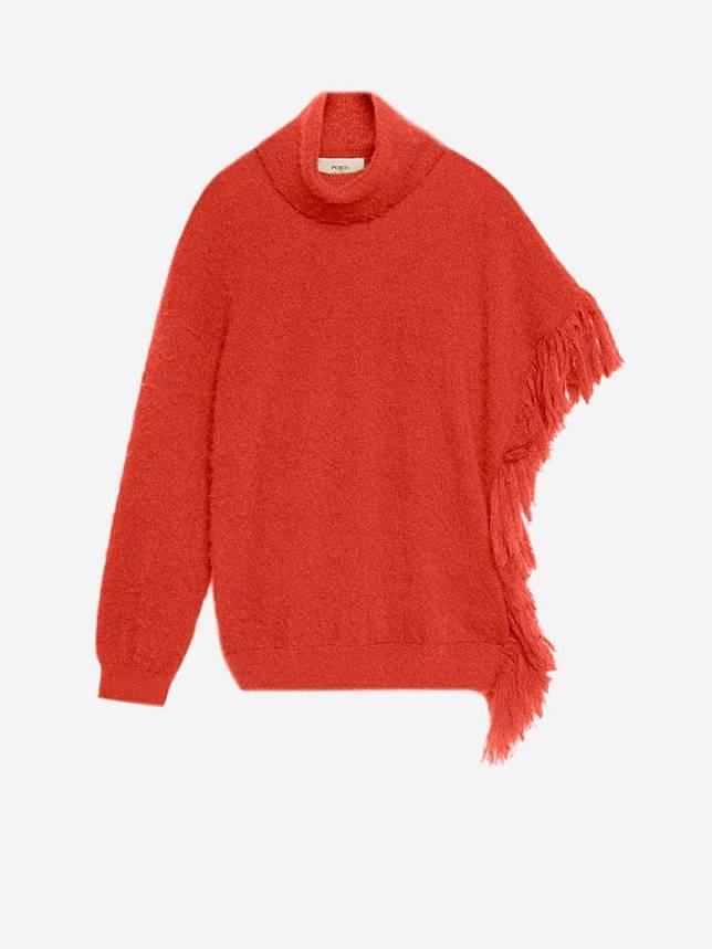 Ports 1961紅色單袖上衣(互聯網)