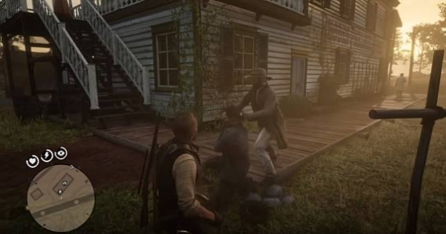 GTA式勸架《碧血狂殺2》線上模式NPC變成殺人犯,直接殺死與玩家衝突的NPC