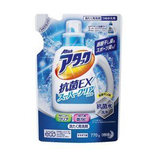 アタック 抗菌EX スーパークリアジェル つめ替 770g