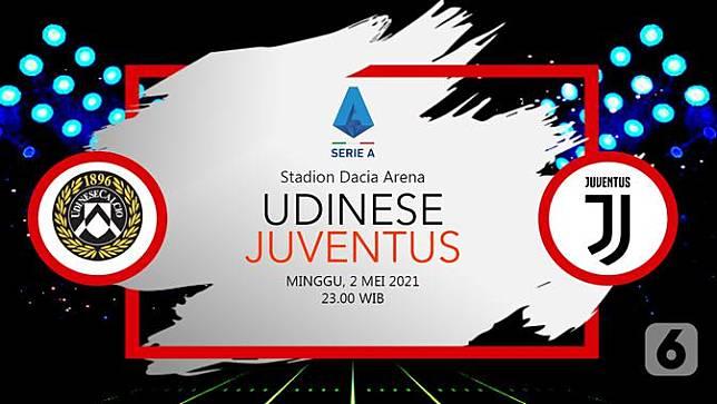 Udinese vs Juventus (liputan6.com/Abdillah)