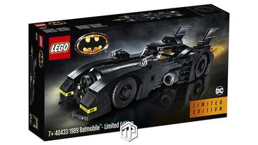 LEGO 推出 1989 年《Batman》戰車積木模型套裝!