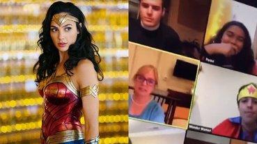 男學生用「神力女超人」線上報告 DC 最強女人,老師提點一句話讓他當場社會性死亡⋯
